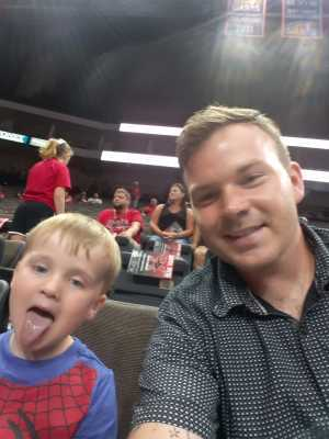 Phillip attended Jacksonville Sharks vs. New York Streets - NAL - Home Opener on Apr 13th 2019 via VetTix