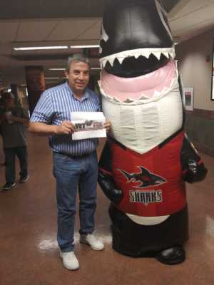 Clifford attended Jacksonville Sharks vs. New York Streets - NAL - Home Opener on Apr 13th 2019 via VetTix
