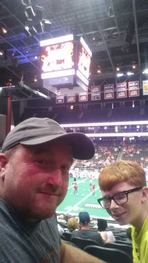 dennis attended Jacksonville Sharks vs. New York Streets - NAL - Home Opener on Apr 13th 2019 via VetTix