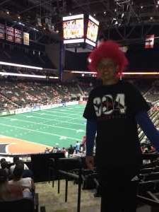 Christopher attended Jacksonville Sharks vs. New York Streets - NAL - Home Opener on Apr 13th 2019 via VetTix