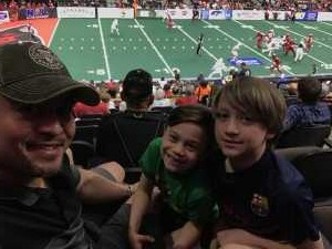 Brian attended Jacksonville Sharks vs. New York Streets - NAL - Home Opener on Apr 13th 2019 via VetTix