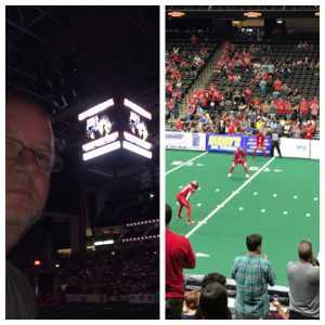 Kyle attended Jacksonville Sharks vs. New York Streets - NAL - Home Opener on Apr 13th 2019 via VetTix