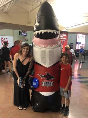 Autumn attended Jacksonville Sharks vs. New York Streets - NAL - Home Opener on Apr 13th 2019 via VetTix