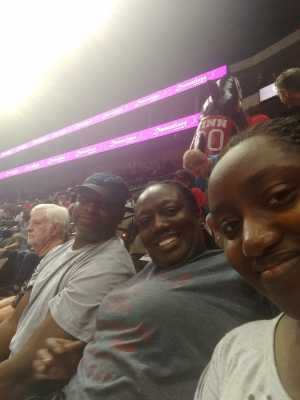 LaJuana attended Jacksonville Sharks vs. New York Streets - NAL - Home Opener on Apr 13th 2019 via VetTix