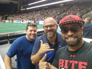 Marvin attended Jacksonville Sharks vs. New York Streets - NAL - Home Opener on Apr 13th 2019 via VetTix