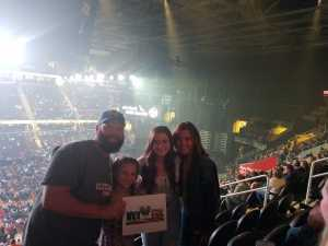 Joel  attended Eric Church: Double Down Tour - Saturday Only on Apr 20th 2019 via VetTix