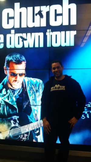 J. Cruz attended Eric Church: Double Down Tour - Saturday Only on Apr 20th 2019 via VetTix