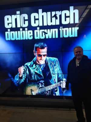 Larry attended Eric Church: Double Down Tour - Saturday Only on Apr 20th 2019 via VetTix