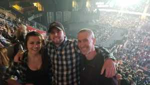 Shane attended Eric Church: Double Down Tour - Saturday Only on Apr 20th 2019 via VetTix