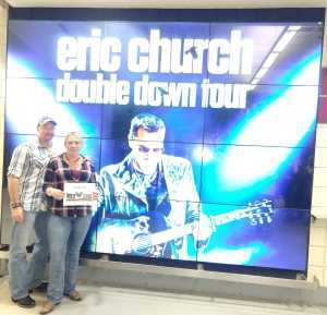 Charles attended Eric Church: Double Down Tour - Saturday Only on Apr 20th 2019 via VetTix