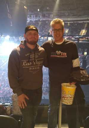 Brad attended Eric Church: Double Down Tour - Saturday Only on Apr 20th 2019 via VetTix