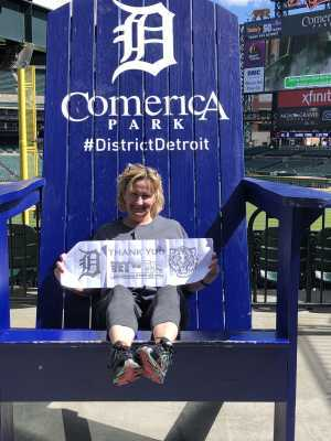 dawn attended Detroit Tigers vs. Cleveland Indians - MLB on Apr 9th 2019 via VetTix