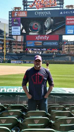 Jeffery attended Detroit Tigers vs. Cleveland Indians - MLB on Apr 9th 2019 via VetTix