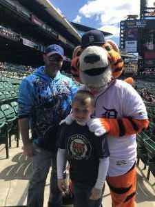 casaundra attended Detroit Tigers vs. Cleveland Indians - MLB on Apr 9th 2019 via VetTix