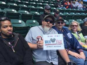 Brett attended Detroit Tigers vs. Cleveland Indians - MLB on Apr 9th 2019 via VetTix