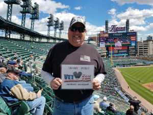 Rodney attended Detroit Tigers vs. Cleveland Indians - MLB on Apr 9th 2019 via VetTix