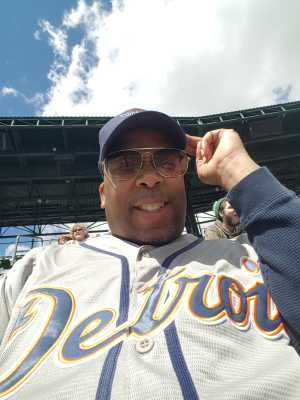 Johnny B  attended Detroit Tigers vs. Cleveland Indians - MLB on Apr 9th 2019 via VetTix