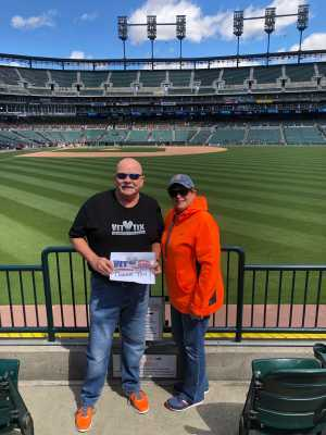 Charles attended Detroit Tigers vs. Cleveland Indians - MLB on Apr 9th 2019 via VetTix