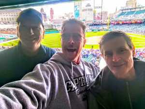 Rob attended Detroit Tigers vs. Cleveland Indians - MLB on Apr 9th 2019 via VetTix