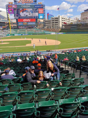 Autumn attended Detroit Tigers vs. Cleveland Indians - MLB on Apr 9th 2019 via VetTix