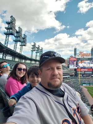 Stephen attended Detroit Tigers vs. Cleveland Indians - MLB on Apr 9th 2019 via VetTix