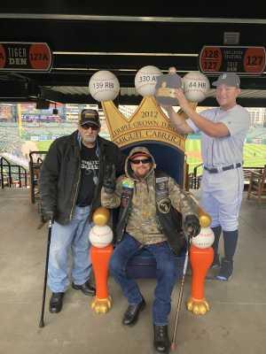 Joseph  attended Detroit Tigers vs. Cleveland Indians - MLB on Apr 9th 2019 via VetTix