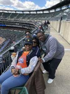 Tonora attended Detroit Tigers vs. Cleveland Indians - MLB on Apr 9th 2019 via VetTix