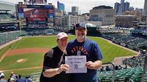 Richard attended Detroit Tigers vs. Chicago White Sox - MLB on Apr 21st 2019 via VetTix