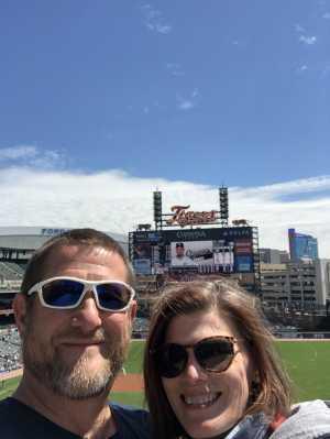 J. Anthony attended Detroit Tigers vs. Chicago White Sox - MLB on Apr 21st 2019 via VetTix
