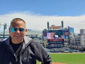 Dean attended Detroit Tigers vs. Chicago White Sox - MLB on Apr 21st 2019 via VetTix