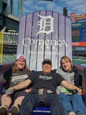 LORI attended Detroit Tigers vs. Chicago White Sox - MLB on Apr 21st 2019 via VetTix