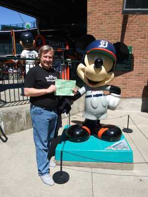 Michael attended Detroit Tigers vs. Chicago White Sox - MLB on Apr 21st 2019 via VetTix