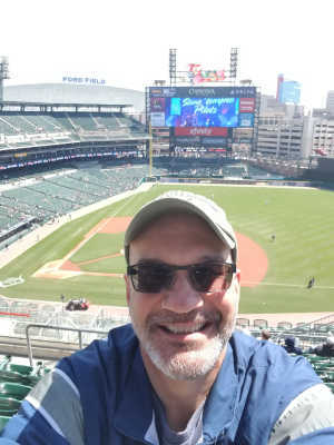 William attended Detroit Tigers vs. Chicago White Sox - MLB on Apr 21st 2019 via VetTix