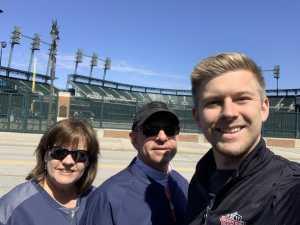 Norwood attended Detroit Tigers vs. Chicago White Sox - MLB on Apr 21st 2019 via VetTix