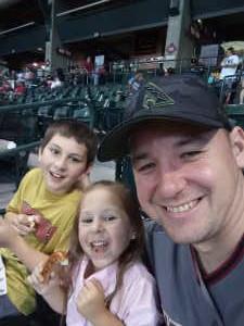 Shane attended Arizona Diamondbacks vs. Pittsburgh Pirates - MLB on May 15th 2019 via VetTix