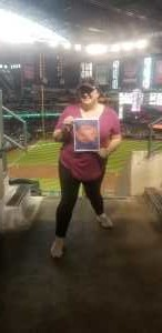 Courtney attended Arizona Diamondbacks vs. Pittsburgh Pirates - MLB on May 15th 2019 via VetTix