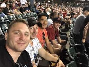 Caleb  attended Arizona Diamondbacks vs. Pittsburgh Pirates - MLB on May 15th 2019 via VetTix