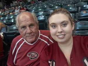 Fred attended Arizona Diamondbacks vs. Pittsburgh Pirates - MLB on May 15th 2019 via VetTix
