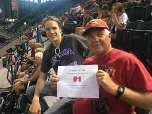 Edmund attended Arizona Diamondbacks vs. Pittsburgh Pirates - MLB on May 15th 2019 via VetTix