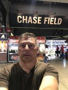 Dennis attended Arizona Diamondbacks vs. Pittsburgh Pirates - MLB on May 15th 2019 via VetTix