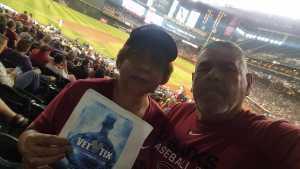 Francisco attended Arizona Diamondbacks vs. Pittsburgh Pirates - MLB on May 15th 2019 via VetTix