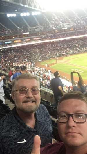 Alfred attended Arizona Diamondbacks vs. Pittsburgh Pirates - MLB on May 15th 2019 via VetTix