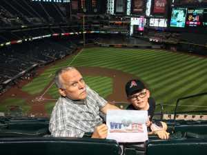 Donald attended Arizona Diamondbacks vs. Pittsburgh Pirates - MLB on May 15th 2019 via VetTix