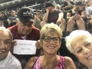 Alan attended Arizona Diamondbacks vs. Pittsburgh Pirates - MLB on May 15th 2019 via VetTix