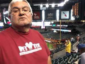 rodolfo attended Arizona Diamondbacks vs. Pittsburgh Pirates - MLB on May 15th 2019 via VetTix