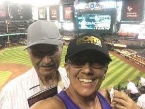 Larry attended Arizona Diamondbacks vs. Pittsburgh Pirates - MLB on May 15th 2019 via VetTix