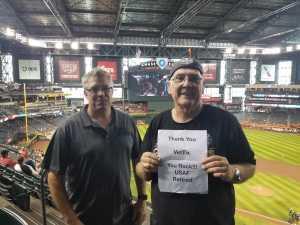Jon attended Arizona Diamondbacks vs. Pittsburgh Pirates - MLB on May 15th 2019 via VetTix