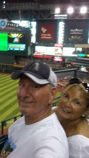 Robert attended Arizona Diamondbacks vs. Pittsburgh Pirates - MLB on May 15th 2019 via VetTix