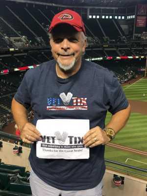 Jack attended Arizona Diamondbacks vs. Pittsburgh Pirates - MLB on May 15th 2019 via VetTix