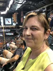 Sandra attended Arizona Diamondbacks vs. Pittsburgh Pirates - MLB on May 15th 2019 via VetTix